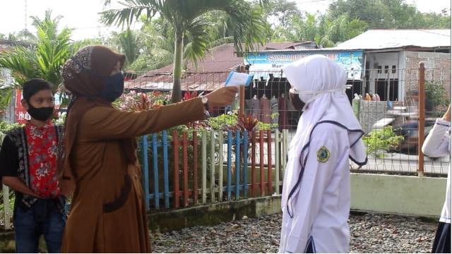 Siswa ke Sekolah Disuruh Pulang di Aceh Barat, Ini Sebabnya  (1216971)