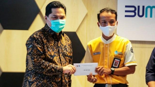 Hadiah Erick untuk Pegawai KAI yang Serahkan Rp 500 Juta: Asuransi sampai Ponsel (10183)
