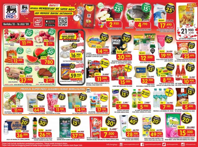 Katalog Promo Superindo Awal Pekan, Berlaku 4 Hari Mulai 13-16 Juli 2020 (33700)