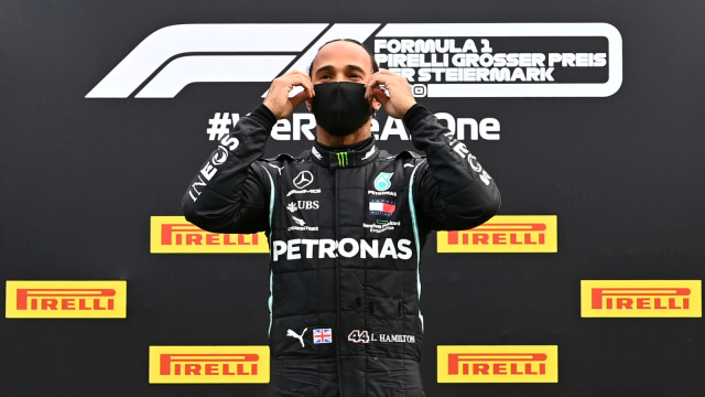 Hasil Kualifikasi F1 GP Inggris: Hamilton Raih Pole Postion Ketujuh Kalinya (202)