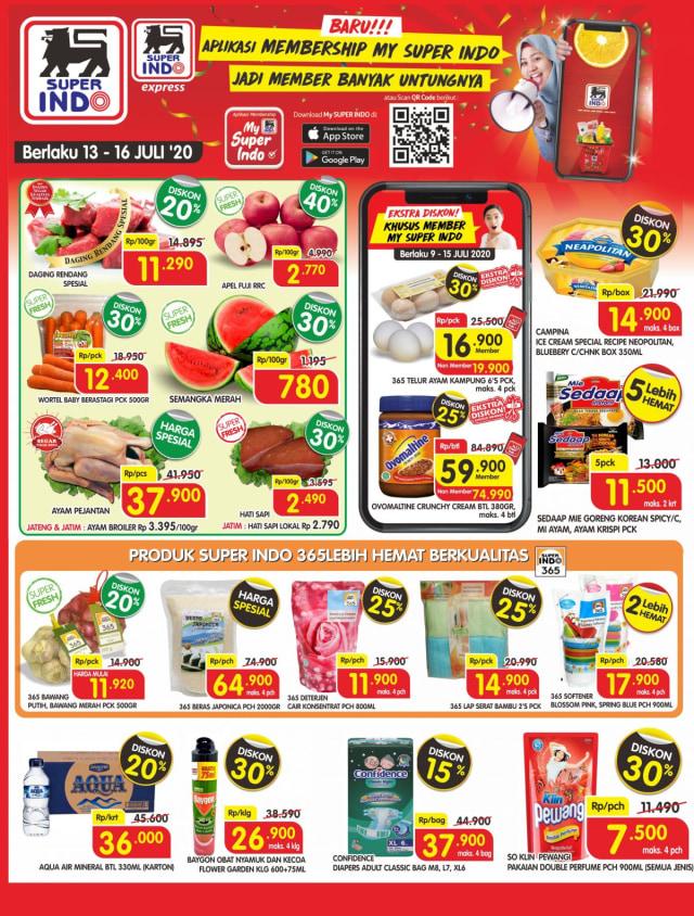 Katalog Promo Superindo Awal Pekan Berlaku 4 Hari Mulai 13 16 Juli 2020 Kumparan Com