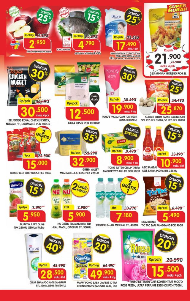 Katalog Promo Superindo Awal Pekan, Berlaku 4 Hari Mulai 13-16 Juli 2020 (33702)