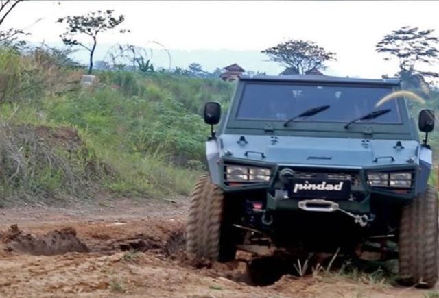 Foto: Rantis Maung yang Dikendarai Menhan Prabowo Siap Mendunia (57489)