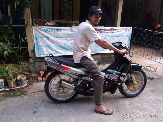 Cerita Pensiunan Bank Sukses Bangun Bengkel Spesialis Suzuki Satria 2-Tak (736952)