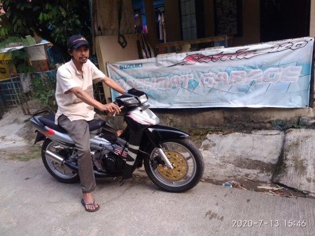 Cerita Pensiunan Bank Sukses Bangun Bengkel Spesialis Suzuki Satria 2-Tak (736953)