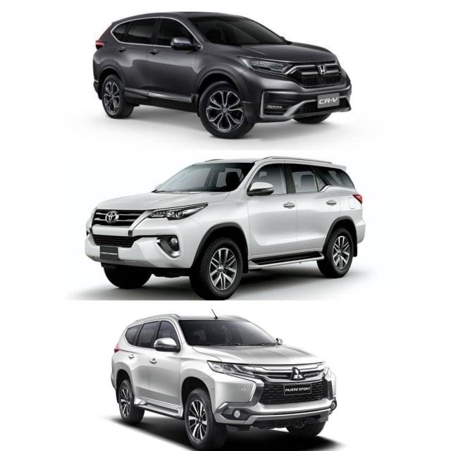 Mesin Diesel CR-V Facelift, Fortuner dan Pajero Sport, Mana Paling Buas? (104248)