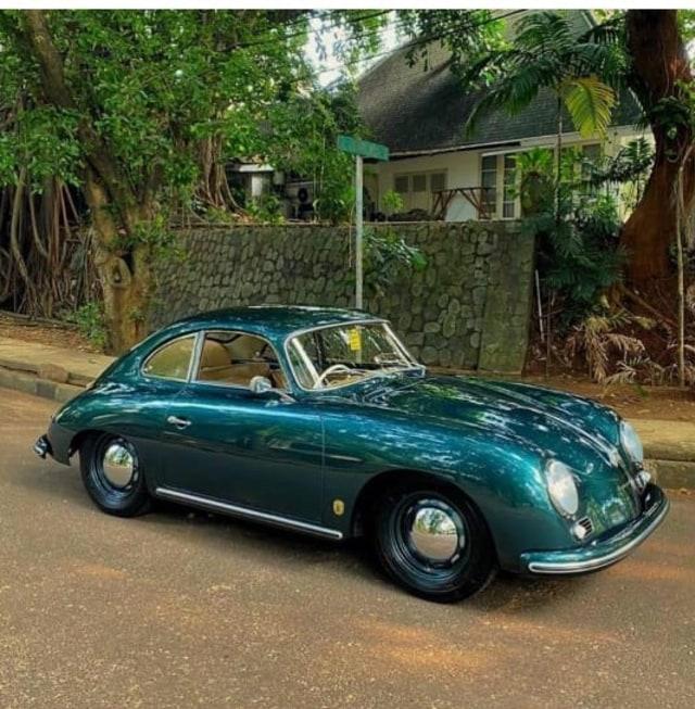 Cara Rifat Sungkar Hibur sang Ayah dengan Porsche 356a Klasik (371)