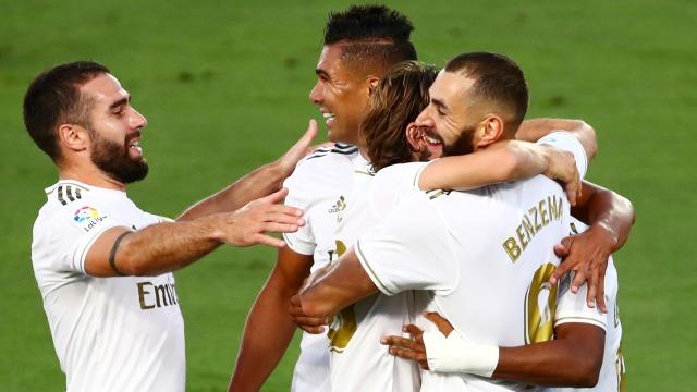 Real Madrid vs Getafe: Benzema Bikin 4 Gol, El Real Menang 6-0 (661813)