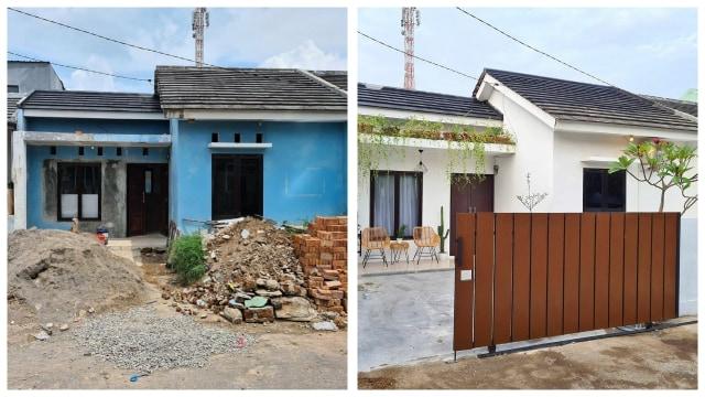 Netizen Ini Sulap Rumah Sederhana Menjadi Rumah Minimalis Yang Keren -  Kumparan.com
