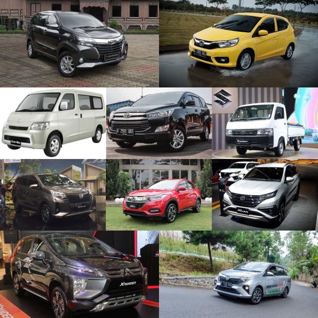 Inilah 10 Mobil Terlaris Sepanjang Semester 1 2020 (741502)