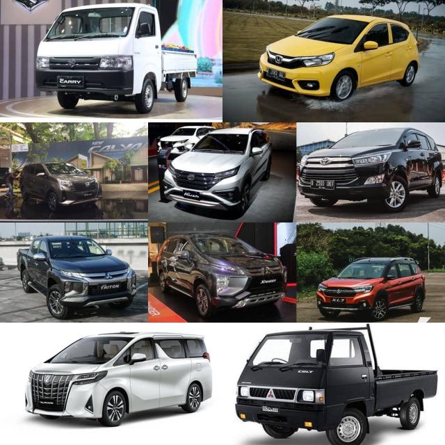 Inilah 10 Mobil Terlaris Sepanjang Semester 1 2020 (741508)