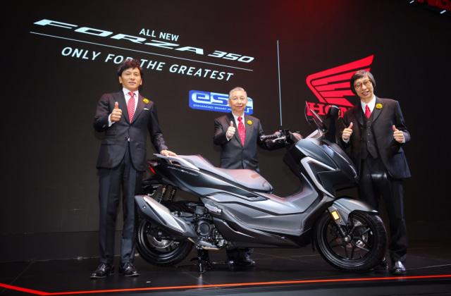 Honda Forza 350 Resmi Meluncur, Siap Masuk Indonesia? (215)