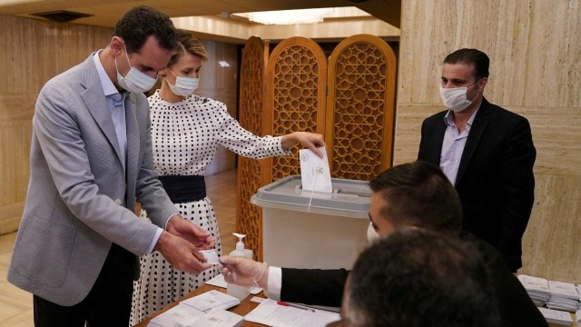 Suriah Gelar Pemilu Parlemen di Tengah Wabah Corona (97613)
