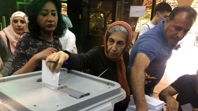 Suriah Gelar Pemilu Parlemen di Tengah Wabah Corona (97612)
