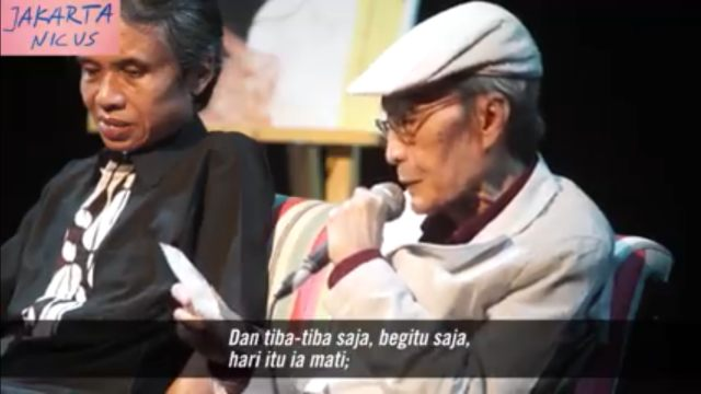 Kisah Paidi dan Penggalan Puisi Sapardi Djoko Damono (325071)