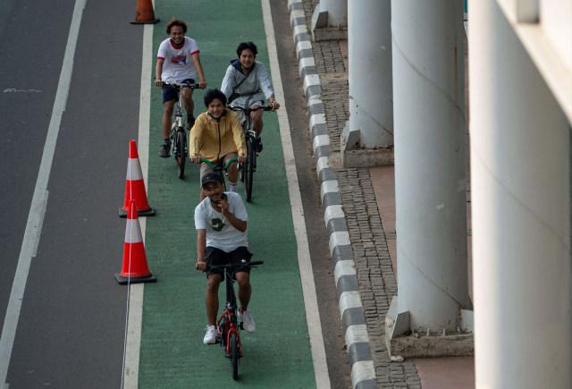 Catat, Kawasan Khusus Pesepeda di 5 Wilayah Jakarta Ditiadakan (616033)