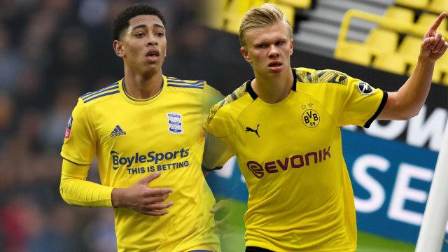 Jude Bellingham Kecup Pipi Haaland Usai Bawa Dortmund Menang atas Besiktas (75496)