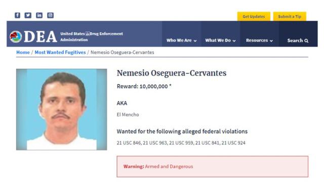 El Mencho, Patron CJNG Kartel Narkotika Semi Militer Paling Berbahaya di Meksiko (121771)