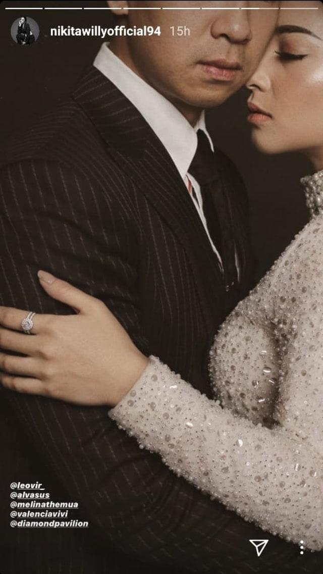 Dapat Ucapan Selamat, Nikita Willy dan Indra Priawan Resmi Menikah? (3)