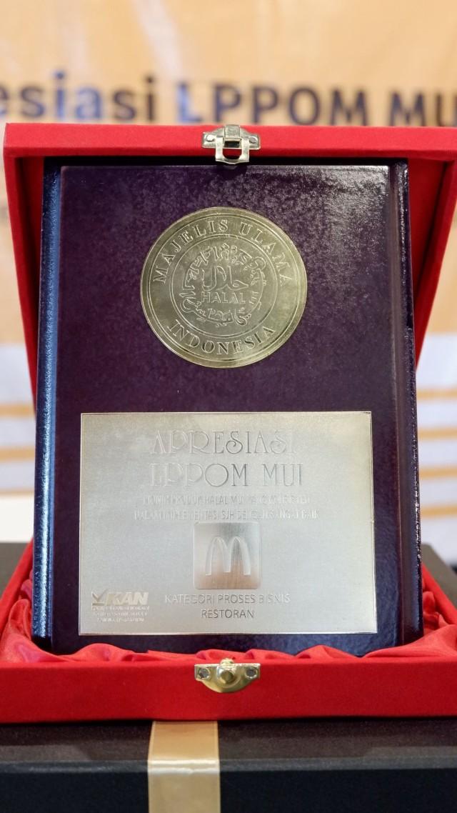 Halal Sejak 1994, McDonalds Indonesia Raih Penghargaan Khusus dari LPPOM MUI (92958)
