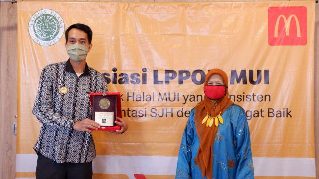 Halal Sejak 1994, McDonalds Indonesia Raih Penghargaan Khusus dari LPPOM MUI (92957)