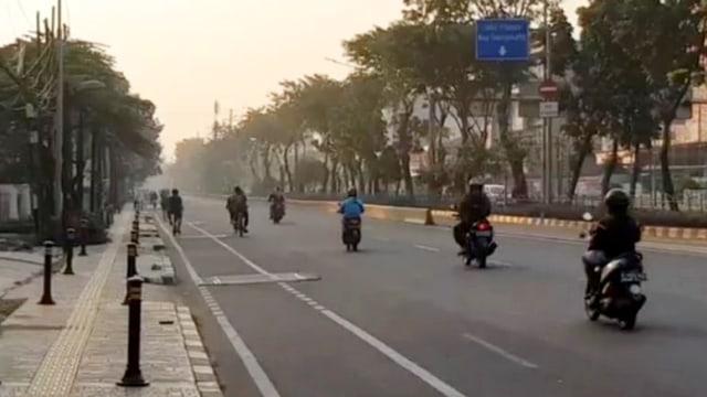 Beberapa RW Masuk Zona Merah Corona, CFD di Jalan Pemuda Ditiadakan (33169)