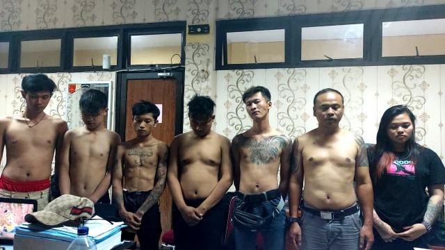 Polisi Bekuk 7 Anggota Moonraker di Cianjur Usai Konvoi dan Rusak Mobil Warga (727796)