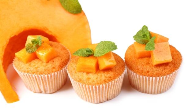 Resep Camilan Keluarga: Muffin Labu Manis  (43979)