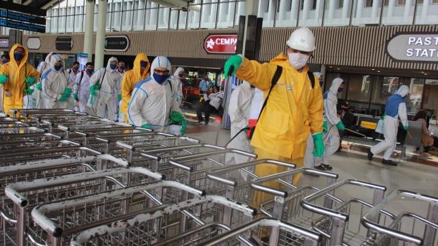 AP II Terapkan Protokol Safe Travel Campaign di Tengah Pandemi COVID-19 (48447)