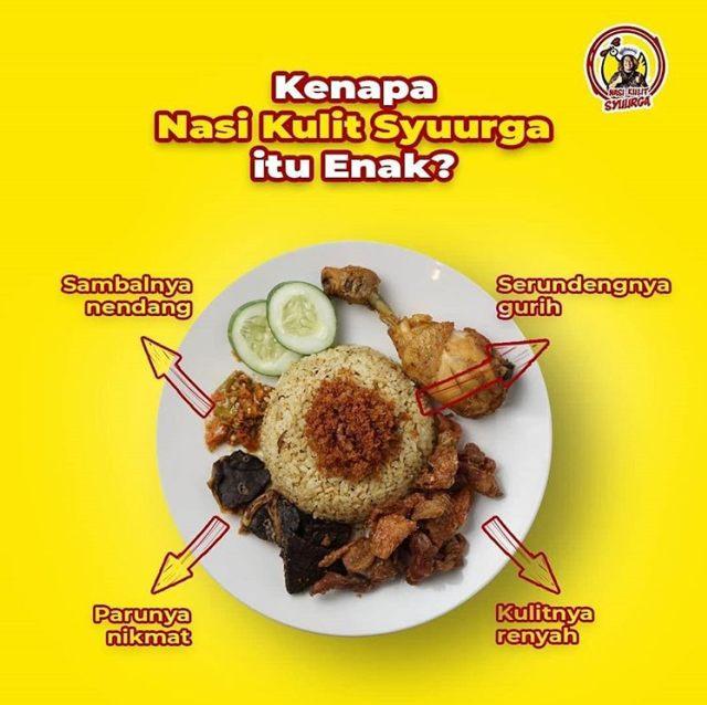 Nasi Kulit Syuurga, Kuliner Baru yang Hype di Samarinda (2083)