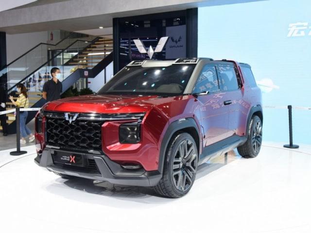 Wuling Hongguang X, Si SUV Baru yang Serba Kotak (618588)