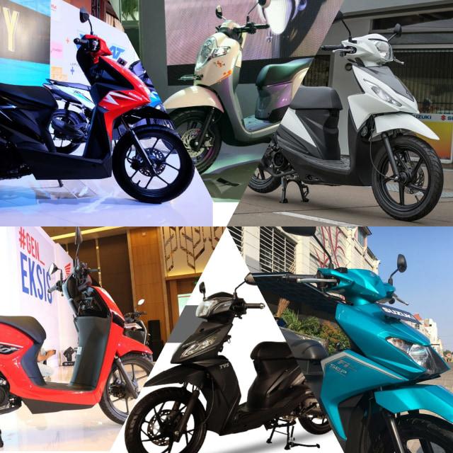 Harga Motor Matik 110 Cc Akhir Juli 2020, Termurah Rp 13 Jutaan (136394)