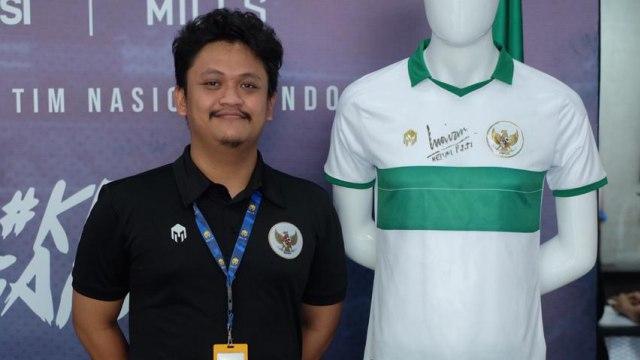 Konsep Jersi Timnas Indonesia Dituduh Nyontek, Ini Jawaban Sang Desainer (1159422)