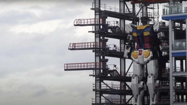 Robot Gundam Setinggi 18 Meter Siap Dibuka di Jepang 19 Desember (234063)