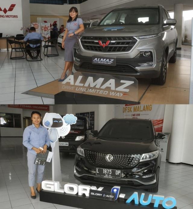 DFSK Glory i-Auto Vs Wuling Almaz Exclusive 7-seaters, Siapa yang Unggul? (368546)