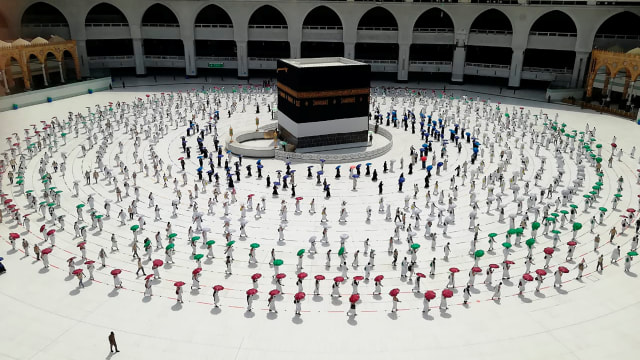 Farida, Jemaah Haji 2020 dari Indonesia: Ini Tak Bisa Dipercaya dan Tak Ternilai (315697)
