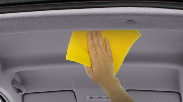 Cara Mudah Hilangkan Noda Menguning di Plafon Mobil  (93482)
