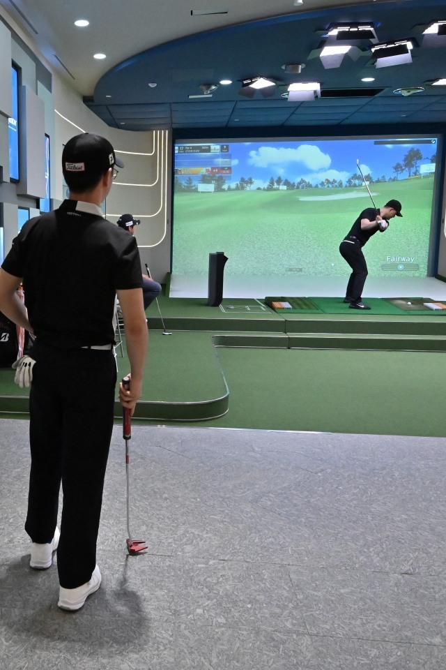 Foto: Melihat Turnamen Golf 'Layar Lebar' di Korea Selatan (223820)
