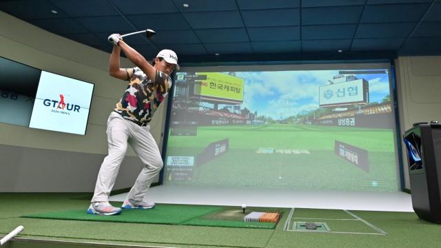 Foto: Melihat Turnamen Golf 'Layar Lebar' di Korea Selatan (223821)