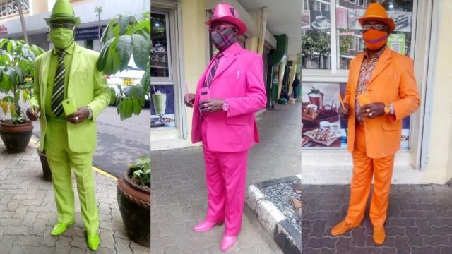 Viral, Pria Asal Kenya Ini Punya 160 Jas dan 300 Topi untuk Tampil Nyentrik (36896)