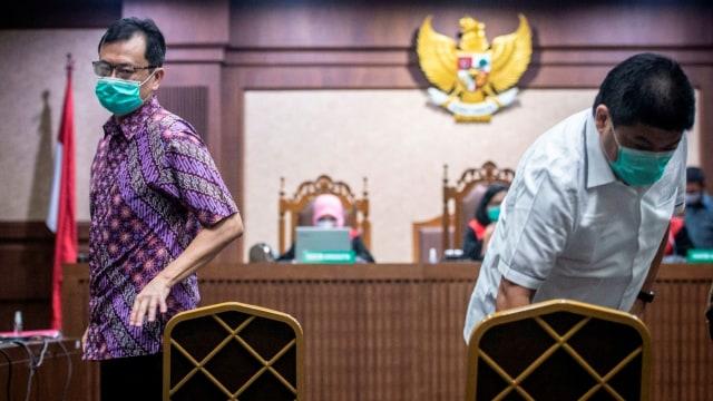 Kasus Jiwasraya, Benny Tjokro dan Heru Hidayat Dituntut Penjara Seumur Hidup  (25964)