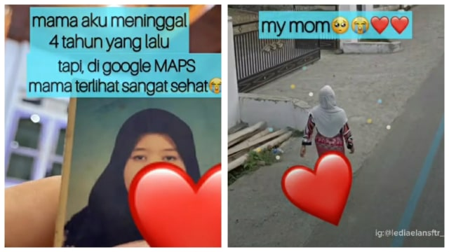Wanita Ini 'Bertemu' Ibunya yang Sudah Meninggal 4 Tahun Lalu di Google Maps (1226616)