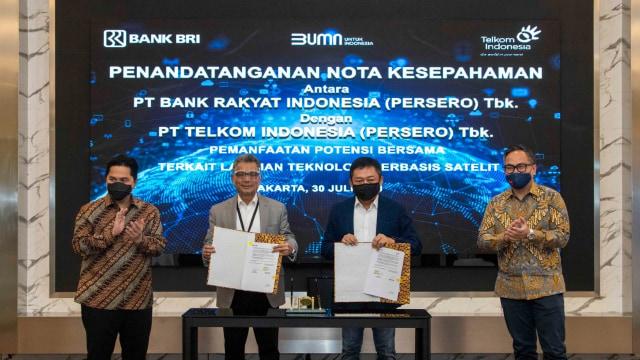 BRI Berkolaborasi dengan Telkom untuk Tingkatkan Layanan Satelit (649196)