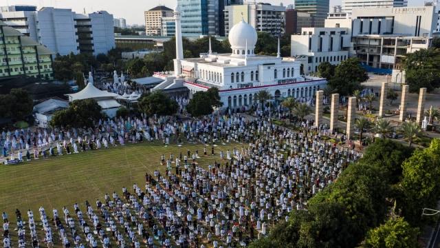 Foto Pekan Ini: Ditangkapnya Djoko Tjandra Hingga Ibadah Haji di Tengah Pandemi (29365)