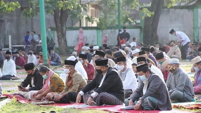 Potret Pelaksanaan Salat Idul Adha di Sumbar di Tengah Pandemi Corona (82358)