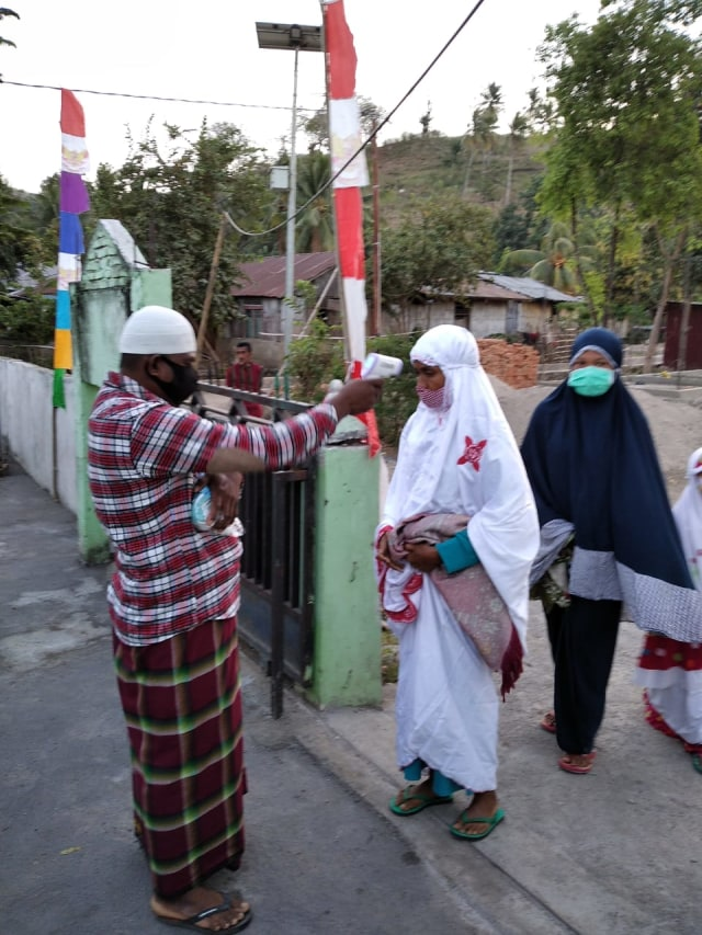 Salat Idul Adha di 29 Masjid di Sikka, Terapkan Protokol Kesehatan (395753)