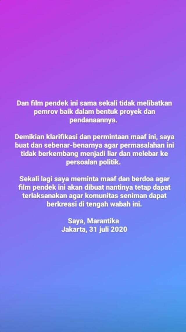 Agensi Klarifikasi Ucapan Ike Muti soal Proyek dengan Syarat Hapus Foto Jokowi (1282385)