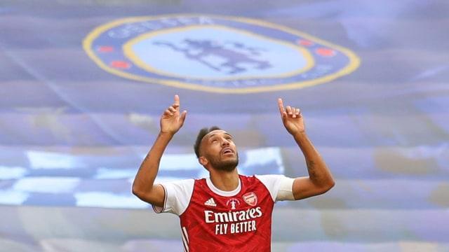 Arsenal Juara Piala FA, Arteta Optimistis Aubameyang Perpanjang Kontrak (6615)