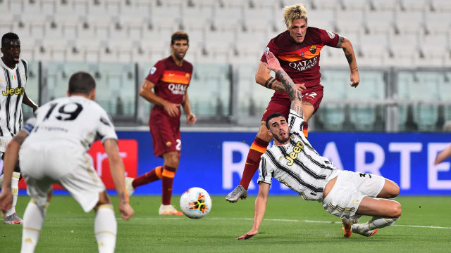 Juventus vs AS Roma: Tanpa Ronaldo dan Dybala, Juve Keok di Kandang (367141)