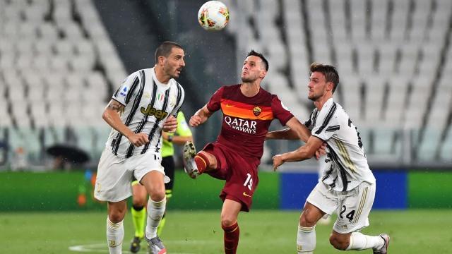 Juventus vs AS Roma: Tanpa Ronaldo dan Dybala, Juve Keok di Kandang (367140)